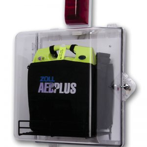 AEDPlus Clear wall cabinet
