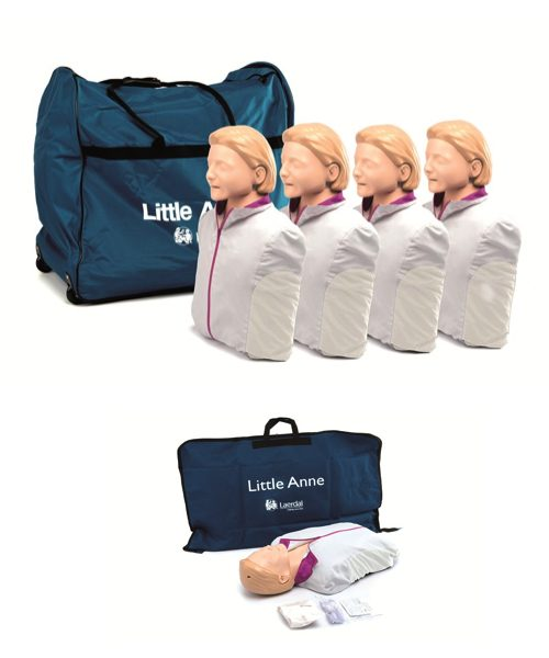 Little Anne CPR manikin-4 pack