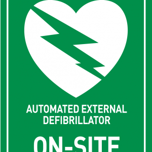 ON SITE AED