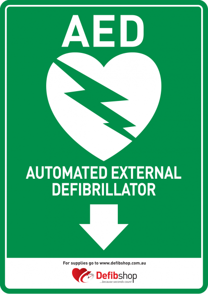 aed-a4-sign_down-arrow