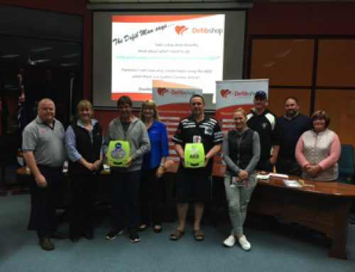 Cowra Shire Council works with local clubs to secure Defibrillator Grants!
