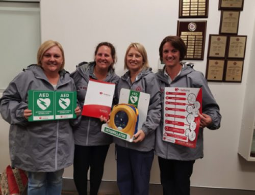 Maitland District Netball Association receives Office of Sport NSW Defibrillator Grant!
