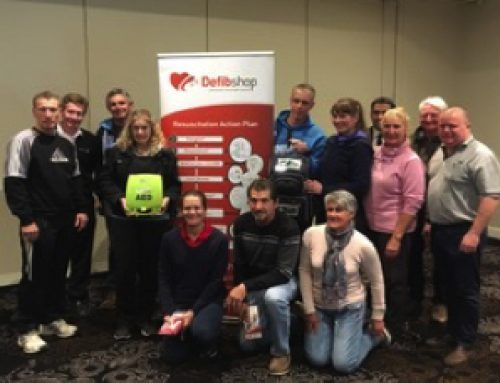 Griffith Feral Joggers Running with new AED!