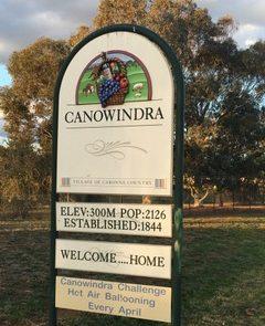 Canowindra Sign-1